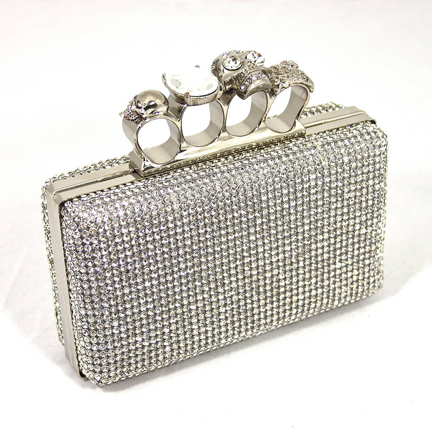 Crystal Clutch Handbag