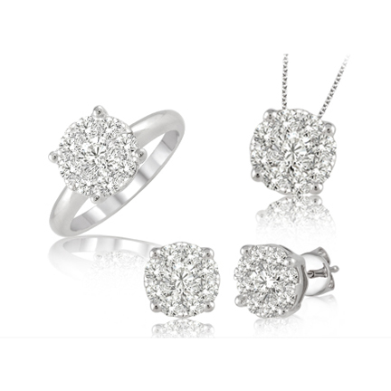 Diamonds jewelry items