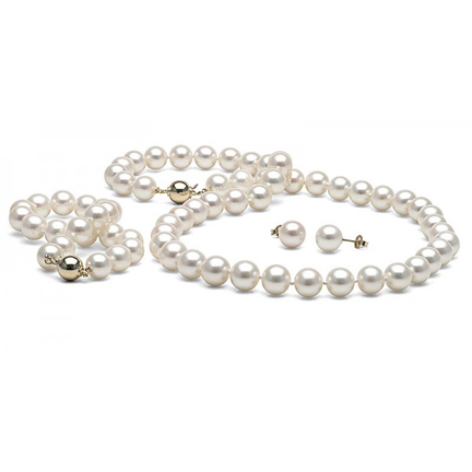 Pearls jewlery items